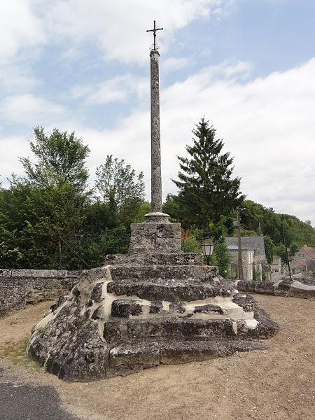 Retheuil (Aisne) croix de cimetière