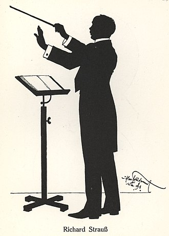 Die Frau ohne Schatten - Strauss by Hans Schliesmann, 1918