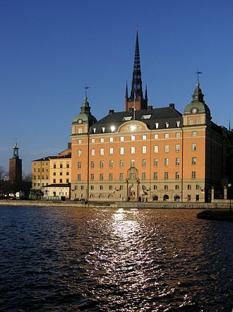 Riksdag - The Old Parliament House on Riddarholmen was the seat of the Riksdag from 1833 to 1905.
