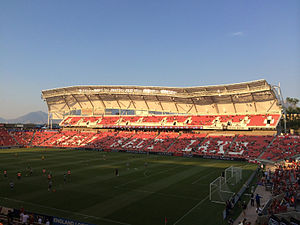 Real Salt Lake - Rio Tinto Stadium has been RSL's home stadium since 2008.