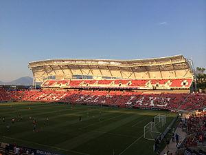 Real Salt Lake - Rio Tinto Stadium has been RSL's home stadium since 2008.