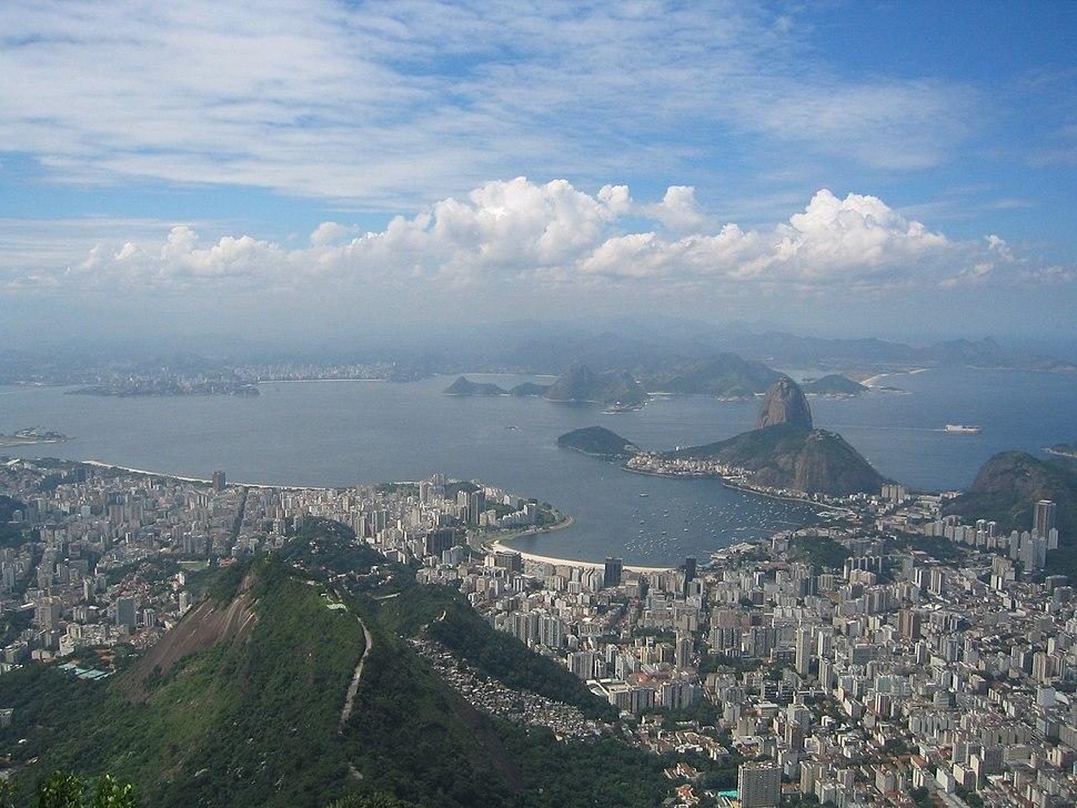 Rio de Janeiro from Corcovado 2005
