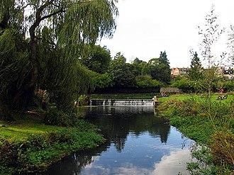 Tetbury Avon - Tetbury Avon near Malmesbury