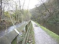 River Calder (left) and Rochdale Canal (right) - geograph.org.uk - 1574332.jpg