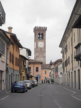 Via Cereda in Rivolta d'Adda
