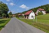 Road III-4875 and houses in Kychová (Huslenky), Vsetín District, Zlín Region, Czech Republic 29.jpg