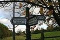 Road Sign near Ambaston - geograph.org.uk - 1024187.jpg