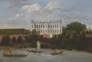 Syon House - Syon House before the alterations of the 1760s.