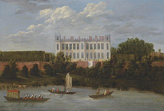 Syon House - Syon House before the alterations of the 1760s