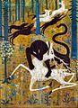 Robert W. Chanler, Leopard and Deer.jpg