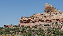 Rock Formations near Green River Overlook, Canyonlands 20110815 1.jpg