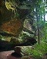 Rock Overhang Leo Petroglyph State Park (9680488941).jpg