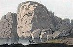 Rock near Krageröe (JW Edy plate 28).jpg