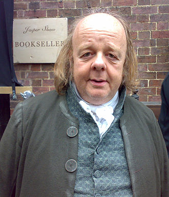 Roger Ashton-Griffiths - Ashton-Griffiths as Jasper Shaw, the bookseller, in Jane Campion's Bright Star (2008)