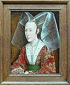 Rogier van der Weyden workshop - Portrait of Isabella of Portugal - with frame.JPG