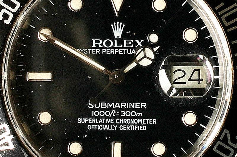 File:Rolex Submariner 300m Chonometer.jpg