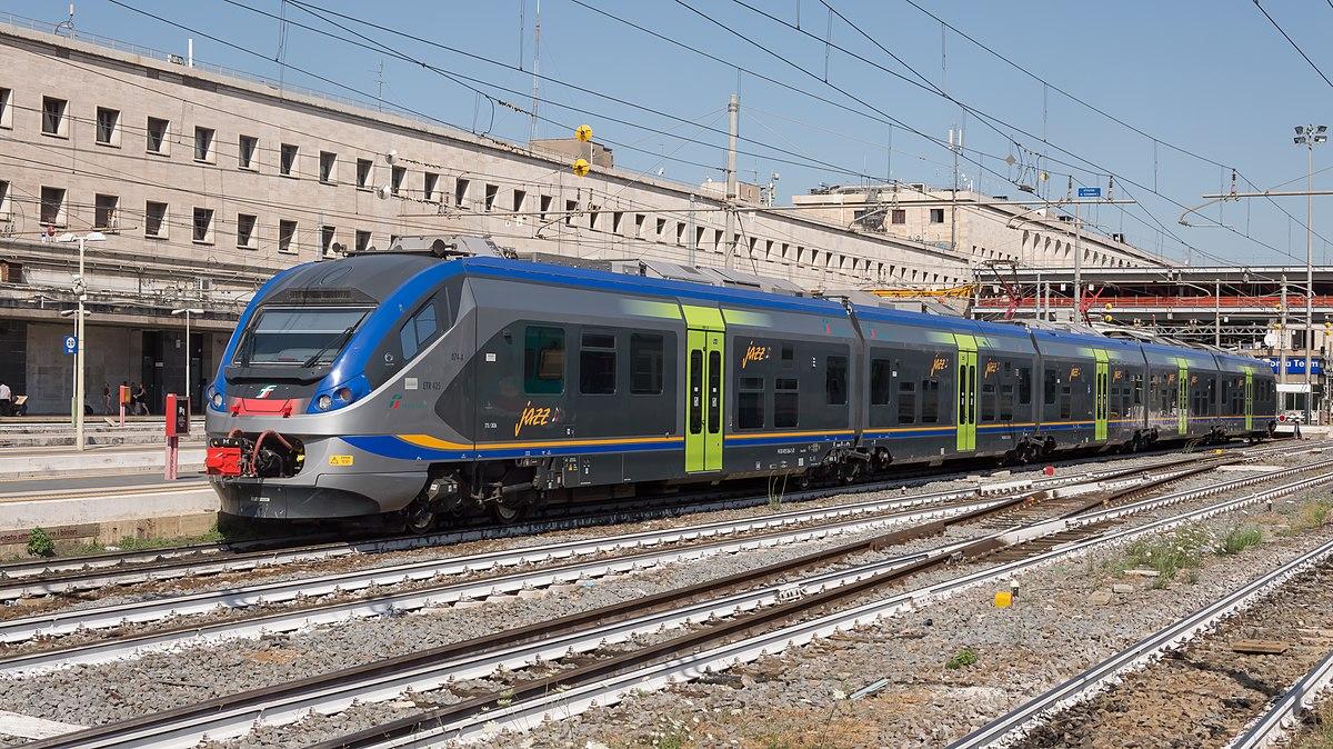 Jazz treno wikipedia for Affitto ufficio roma stazione termini