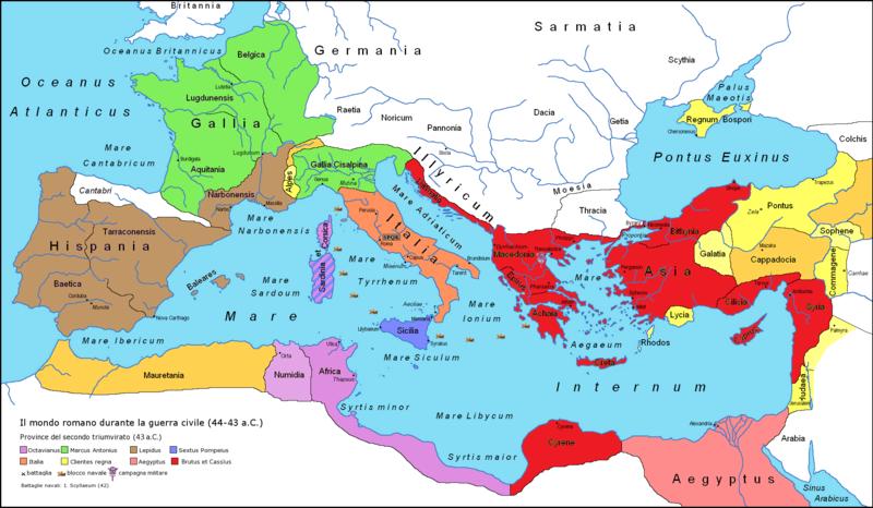 Roman Empire 43BC