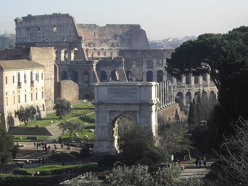 File:RomeArchofTitus02.jpg