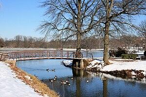 Roosevelt Park (Edison, New Jersey) - Winter in Roosevelt Park