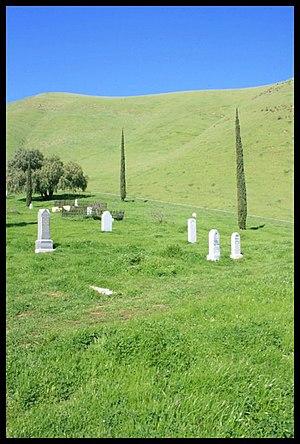 Nortonville, California - Rose Hill Cemetery, near Nortonville Regional Park, CAPhoto by Heather Grimes, September 30, 2012.