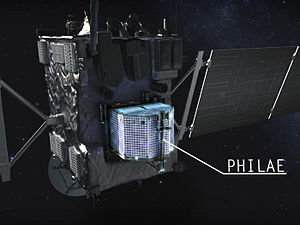 Philae (spacecraft) - Rosetta and Philae