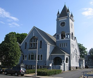 Roslindale Neighborhood of Boston in Suffolk, Massachusetts, United States