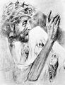 Rudolf Heinisch, Kreuzweg - VIII. Christus begegnet den Frauen, 1945.jpeg