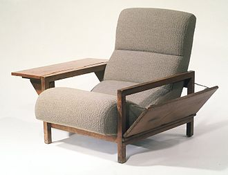 """Russel Wright - Armchair """"Statton,"""" Designed 1950 Brooklyn Museum"""