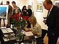 Ruzickova Petra Vystava a krest publikace Pevnost v galerii June Bateman.jpg