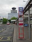 Ruzyně, letiště, zastávka Terminál 1, řídicí věž.jpg