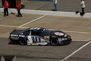 North Wilkesboro Speedway - Ryan Blaney on pit lane at the 2011 PASS race