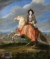 Ryttarporträtt på Madame La Comtesse de Saint Geran, 1670-tal - Livrustkammaren - 100377.tif