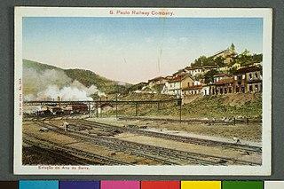 S. Paulo Railway Company. - Estação do Alto Sa Serra