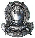 SADF equestrian centre beret badge