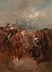 Anno 1632. Frederik Hendrik trekt Maastricht binnen