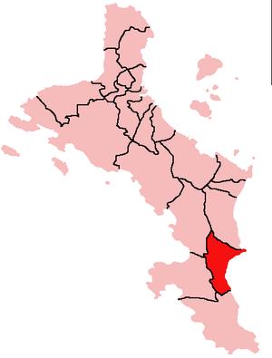 Anse Royale - Location of Anse Royale District on Mahé Island, Seychelles