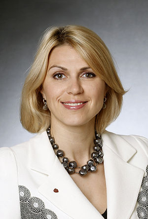 Minister of Economic Affairs and Infrastructure (Estonia) - Image: SDE Urve Palo
