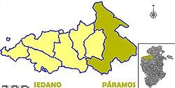 Valle De Sedano Mapa.Valle De Sedano Wikipedia La Enciclopedia Libre