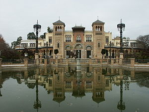 Museum of Arts and Traditions of Sevilla - Mudéjar Pavilion, Museum of Arts and Traditions.