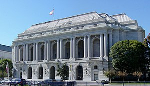 San Francisco War Memorial and Performing Arts Center - War Memorial Opera House, venue in the SFWMPAC