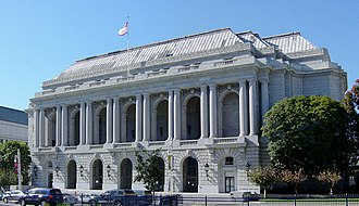 Beaux-Arts architecture - The San Francisco War Memorial Opera House of 1932, among the last major American buildings constructed in the Beaux-Arts style