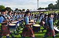 SFU bands at mass band march, the Worlds (7761918894).jpg