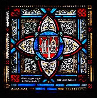 Saint John's Church (Hagerstown, Maryland) - Tennant Memorial Window.