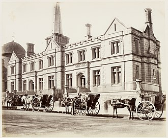 General Register Office - Registrar Generals Office, Sydney Australia (1872)
