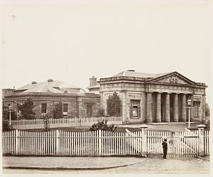 Darlinghurst, New South Wales - Darlinghurst Courthouse, 1872.