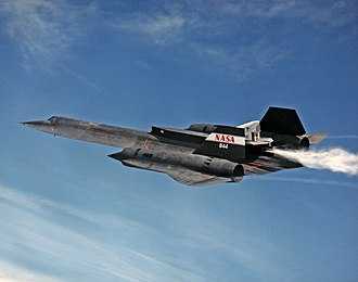 Skunk Works - A modern Skunk Works project leverages an older one: LASRE atop the SR-71 Blackbird.