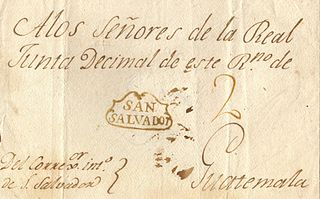 Postage stamps and postal history of El Salvador