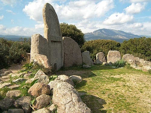 Giants' grave in Dorgali (Bronze Age). - Sardinia