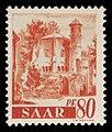 Saar 1947 223 ehemalige Benediktiner Abtei Mettlach, Alter Turm.jpg
